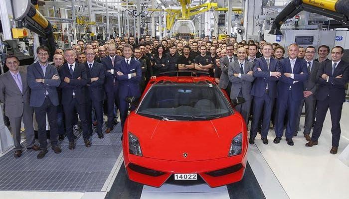 El último Lamborghini Gallardo construido