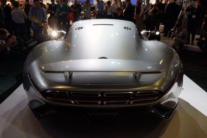El Mercedes AMG Vision Gran Turismo Concept, en vivo