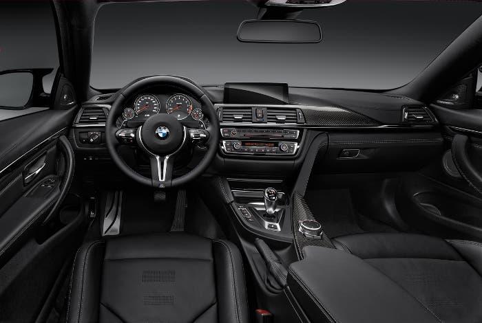 Diseño interior BMW M4