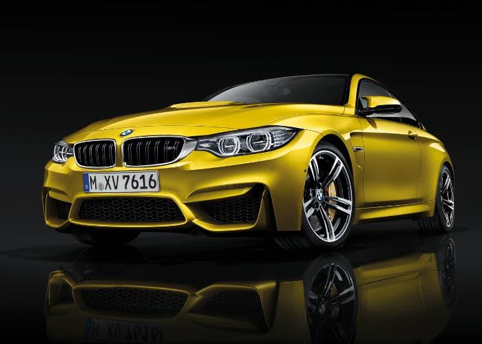 Aspecto anterior del BMW M4