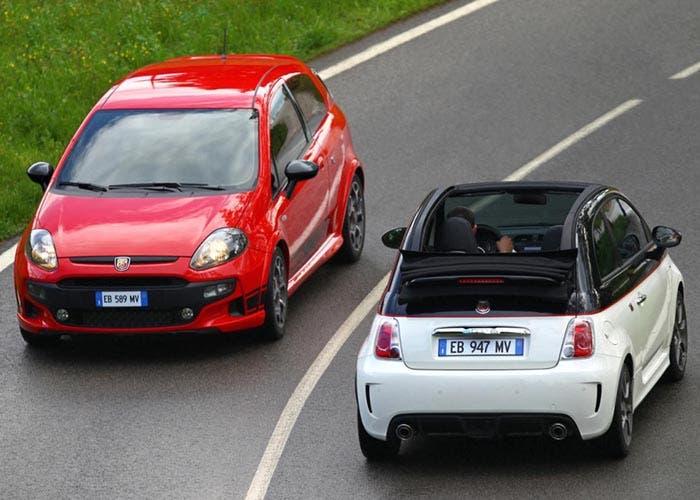 El Fiat 500 y Fiat Grande Punto cara a cara