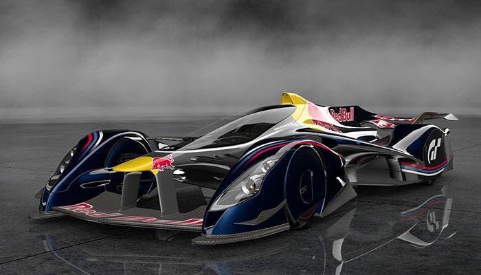 Red Bull X2014 en Gran Turismo 6