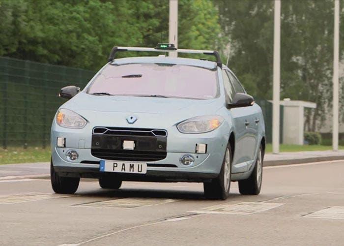 PAMU, la conducción autónoma de Renault