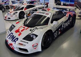 Frontal del Mclaren F1 GTR