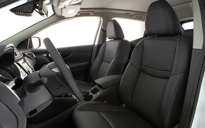 Interior del Nissan Qashqai
