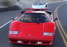 Lamborghini Countach y Aventador cara a cara