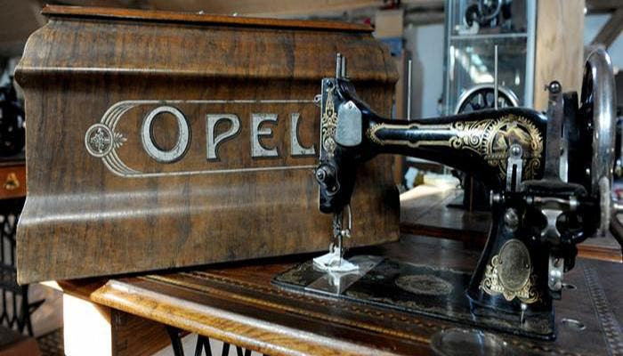 Modelo de maquina de coser Opel
