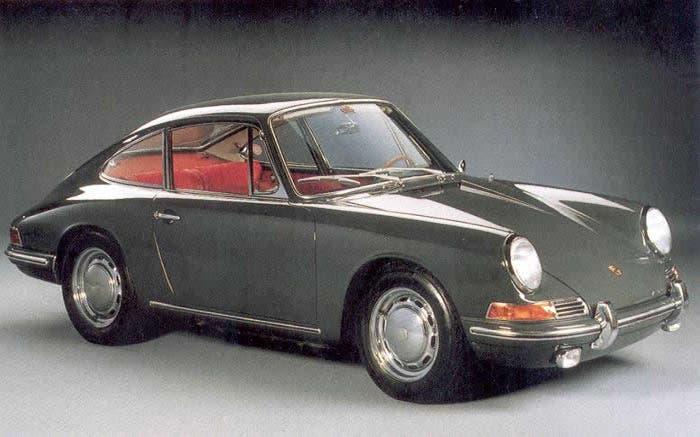 Porsche 911 Gris de 1965