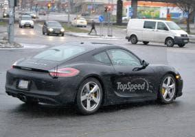 Difusor trasero del nuevo Porsche Cayman GTS 2014