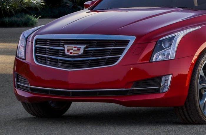 El nuevo logo de Cadillac en el Cadillac ATS