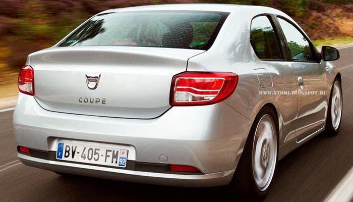 Trasera del Dacia Coupé