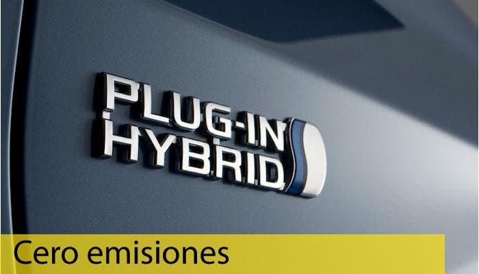 Logotipo híbridos plug-in