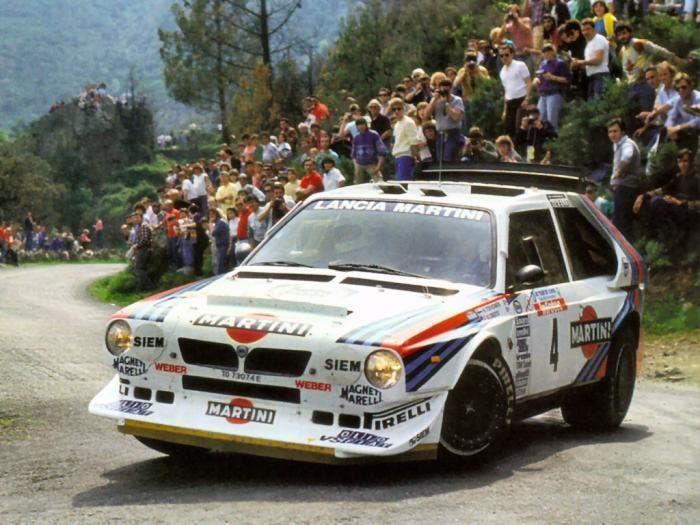 Lancia S4 1986 Tour de Corse