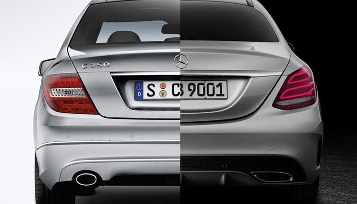 El nuevo Mercedes Clase C, se ve las caras con su predecesor
