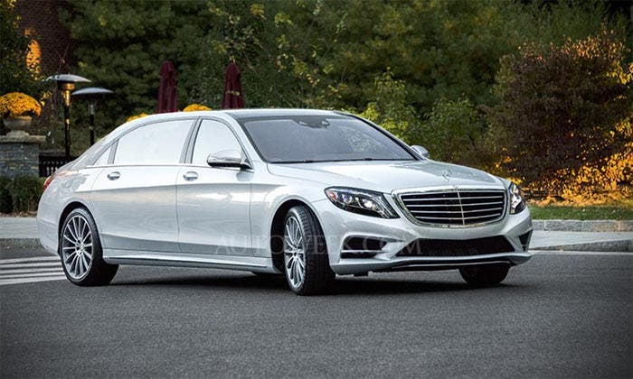 Render del Mercedes Clase S Long Wheelbase