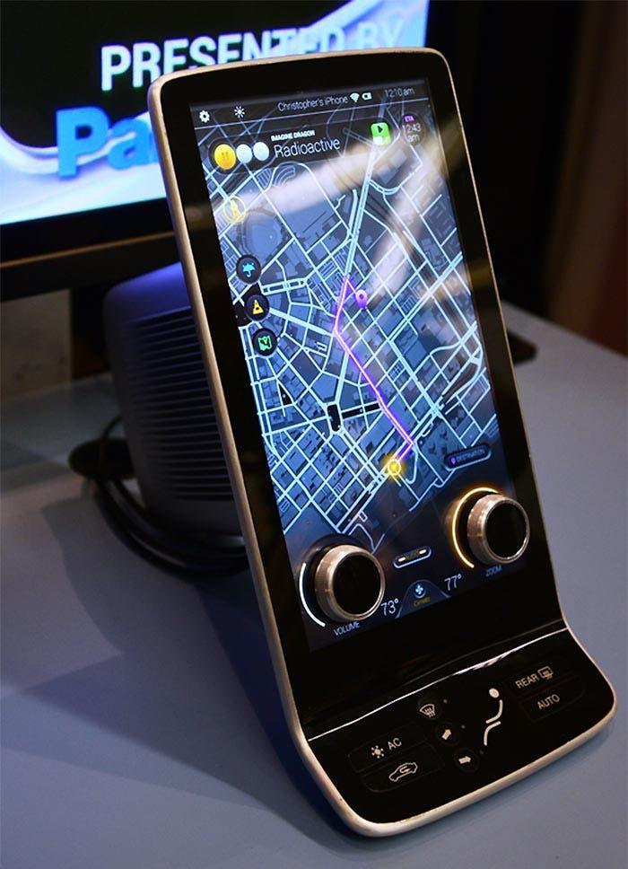 Pantalla con botones integrados de Panasonic