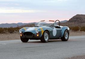 Parte delantera del Shelby Cobra 50 Aniversario