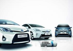 Familia híbrida de Toyota