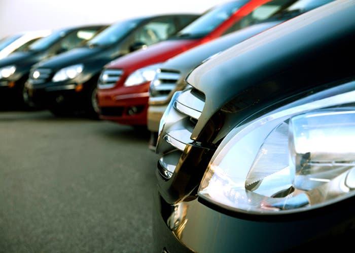 Parque con stock de vehículos nuevos