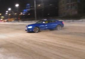 Intento de drift en un Audi S5