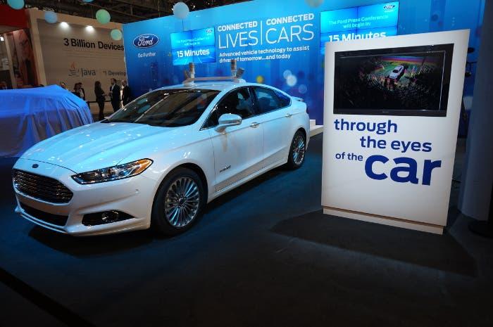 Presentación del coche autónomo de Ford