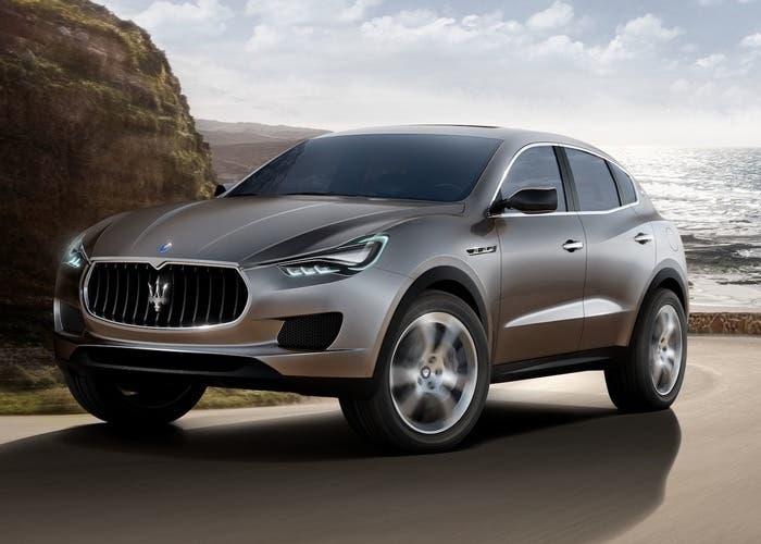 Imagen del nuevo Maserati Levante SUV