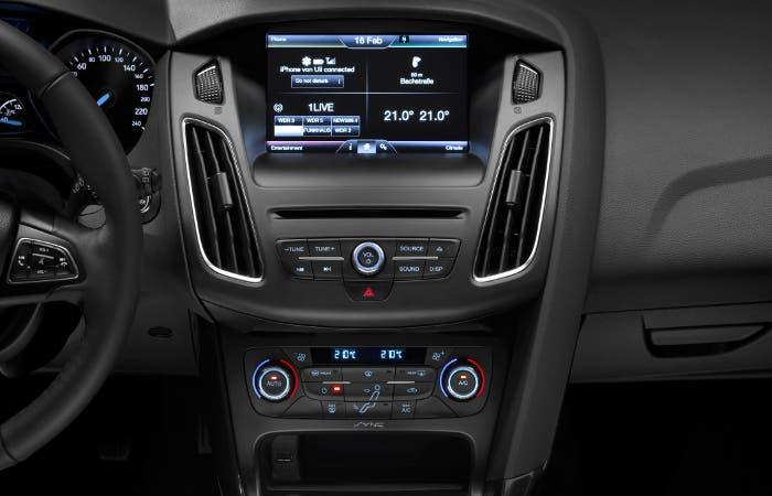 Interior nuevo Ford Focus