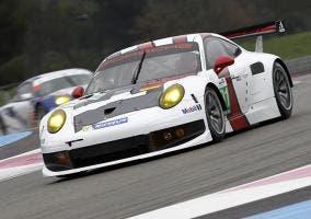 Frontal del Porsche 911 RSR