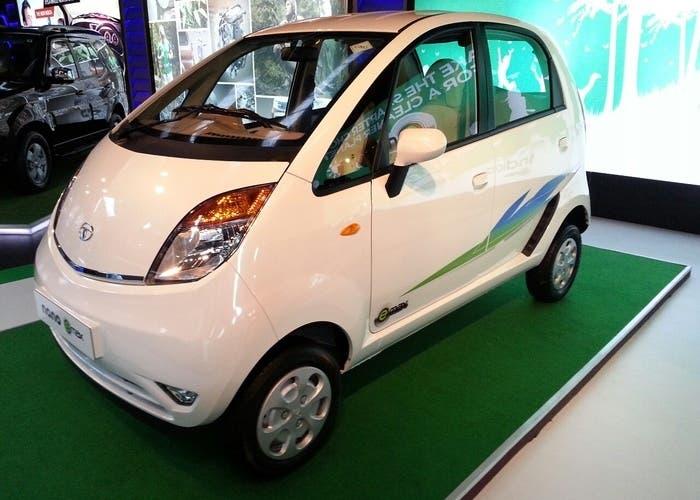 Presentación del Tata Nano