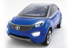 Nuevo frontal del Tata Nexon concept