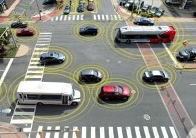 Tecnología vehículo a vehículo aprobada por EEUU
