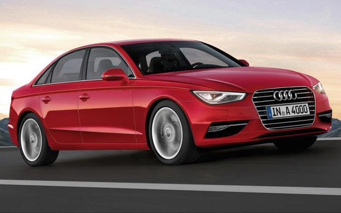 Frontal del nuevo Audi A4