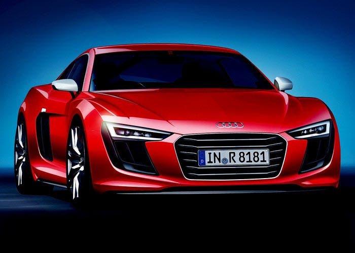 Frontal del nuevo Audi R8
