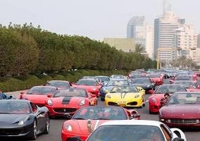 Atasco en Dubai