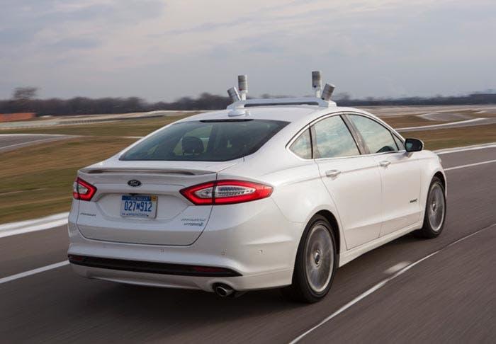 Ford Fusion en funcionamiento
