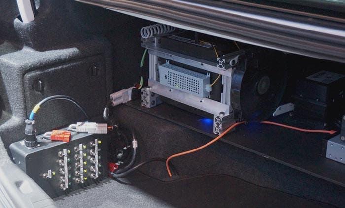 Sistema electrónico de conducción autónoma