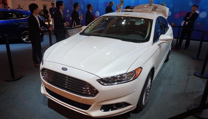 El Ford Fusion en el MWC