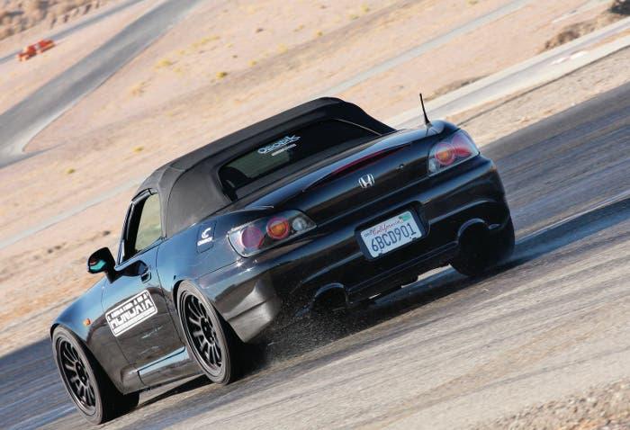 Control de tracción en Honda S2000