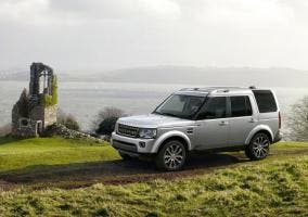 Exterior del Land Rover Discovery XXV Special Edition