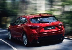 Trasera del Mazda 3