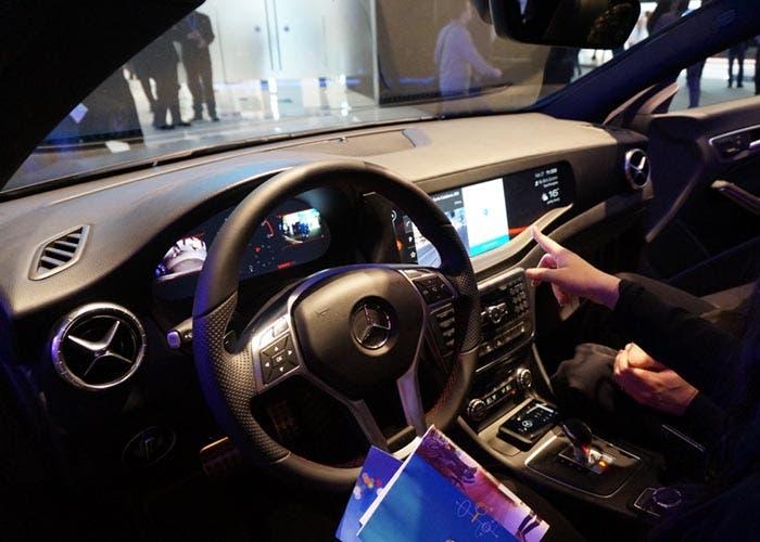 Sistema QNX en el Mercedes CLA 45 AMG