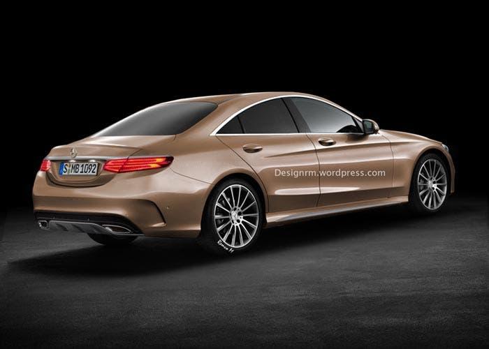 Trasera del Mercedes CLC