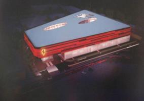 Plano de la nueva Scuderia Ferrari