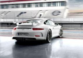 Trasera del Porsche 911 GT3