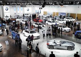 Exposición de BMW en salón del automóvil de Madrid