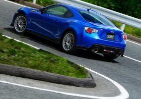 Trasera del Subaru BRZ STI
