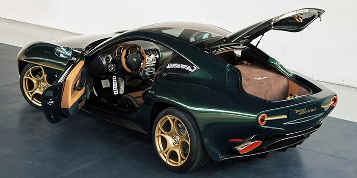 Nuevo diseño del Alfa Romeo DIsco Volante