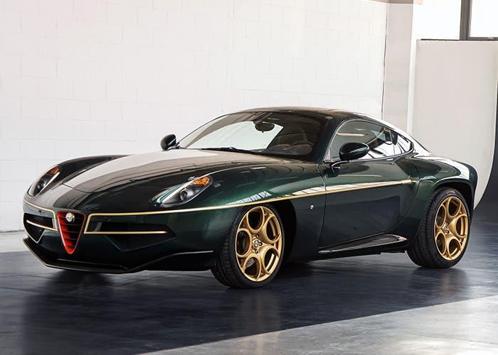 Alfa Romeo Disco Volante britanico