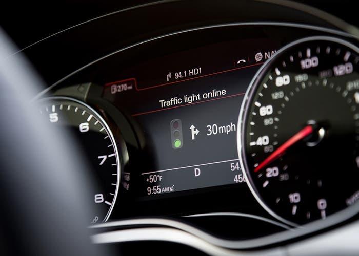 El sistema de Audi que reconoce los semaforos