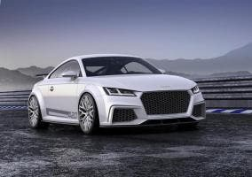 Audi TT Quattro Sport Concept vista frontal